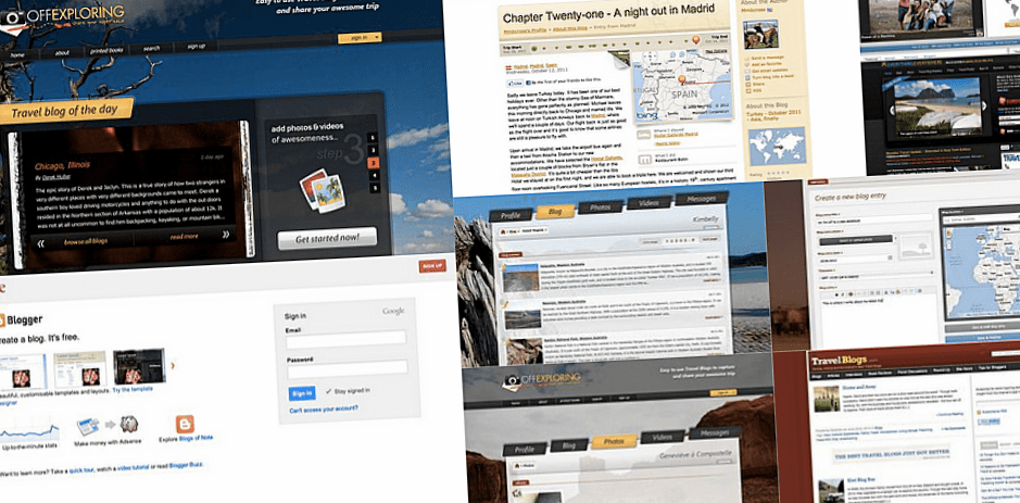 How to start a travel blog – 6 best sites