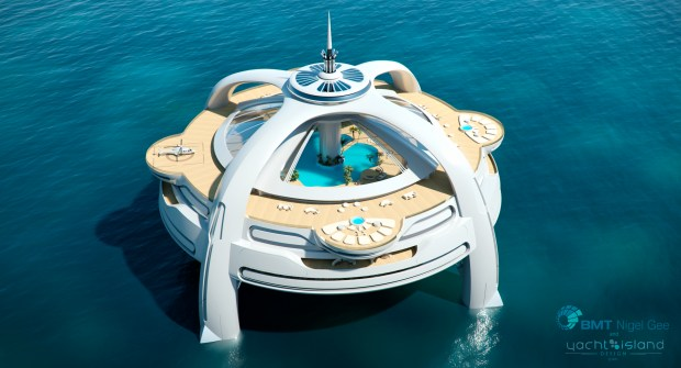 Utopia 3 Render 300dpi 620x335 LUXURY YACHTS: Back to the future pics shipping boats