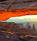 The Mesa Arch, Utan, United States.
