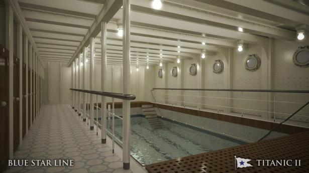 The pool. Photo: Blue Star Line handout