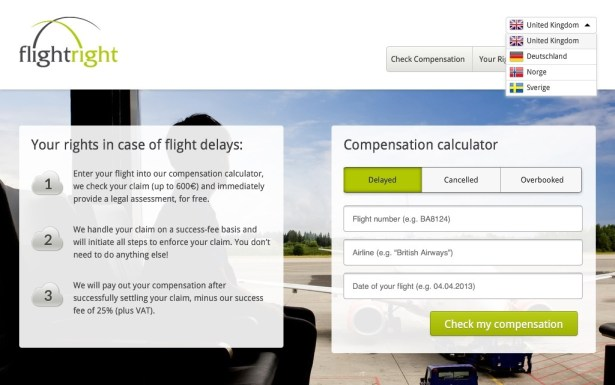 image1 615x385 Online form helps airline passengers win legal fights over delays news airlines