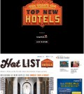 Condé Nast new hotels