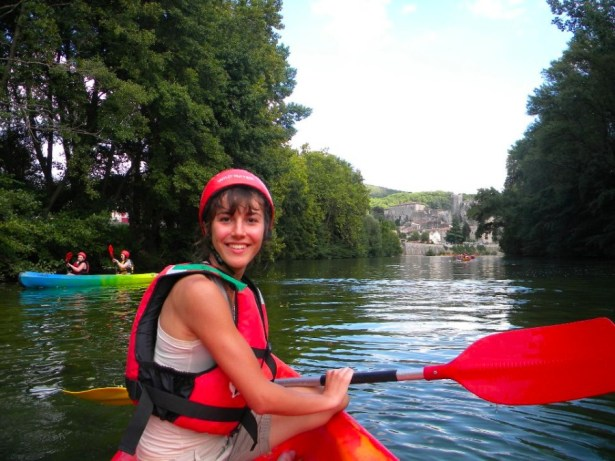 River rafting in southern France. Before the underwear came off. Photo: Daiana Negulici
