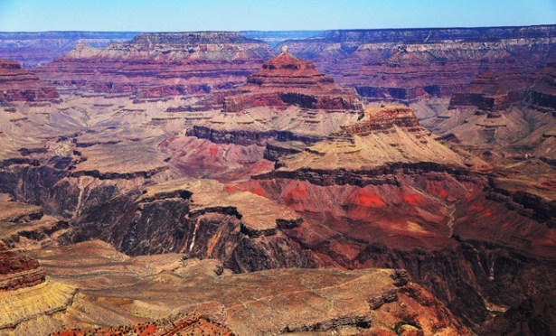 The Grand Canyon, looking to the north. Photo: Erik Bergin