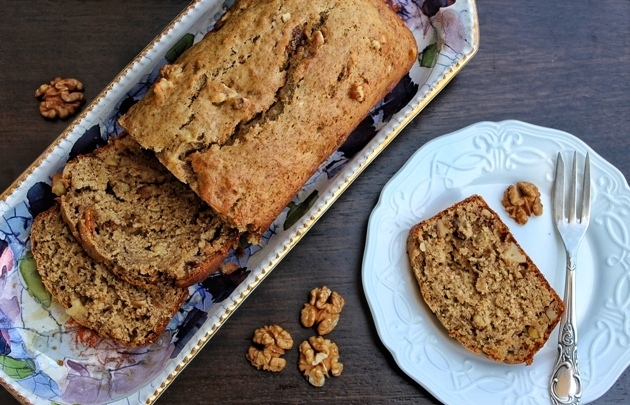 Easy Super Moist Vegan Banana Bread Recipe