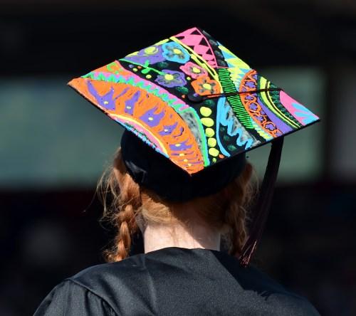 Medium Of Grad Cap Decoration