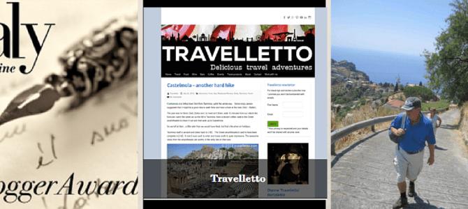 Finalist – Best Single Travel Post in Italy Magazine Blog Awards