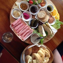 Vineyard Platter at fairbrossen estate in the perth hills