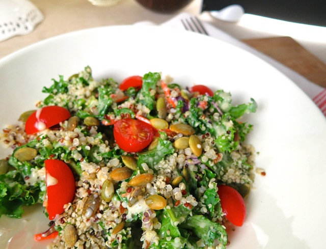 hemp seed salad | Travelling Dietitian