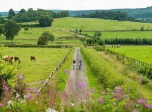 Cycling the Vennbahn, an easy ride on one of Europe's longest rail trails.