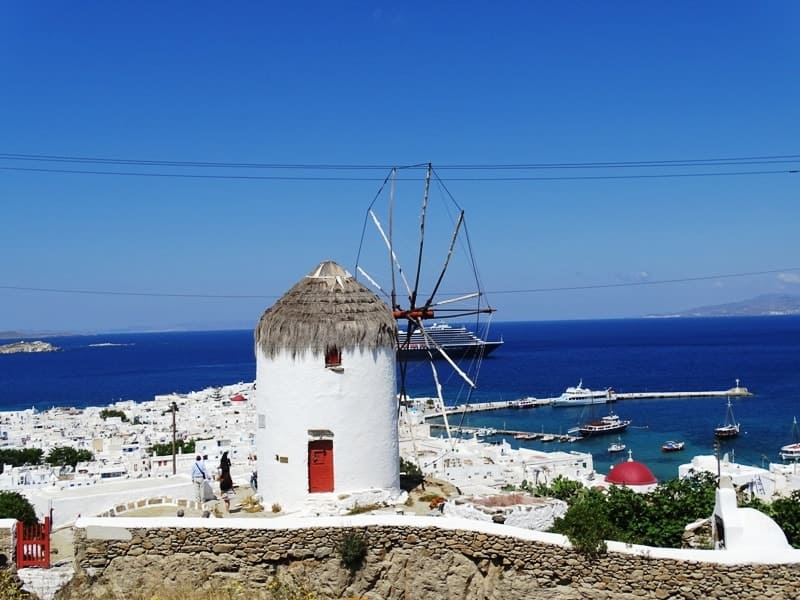 Things to do in Mykonos island Greece Mykonos from above