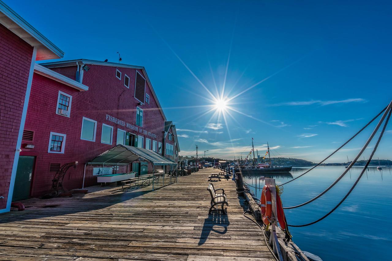 The beautiful Lunenburg, Nova Scotia