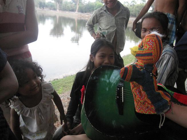Laura's puppet Cambodia