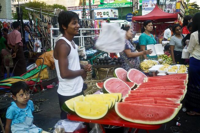 fruit in yangon