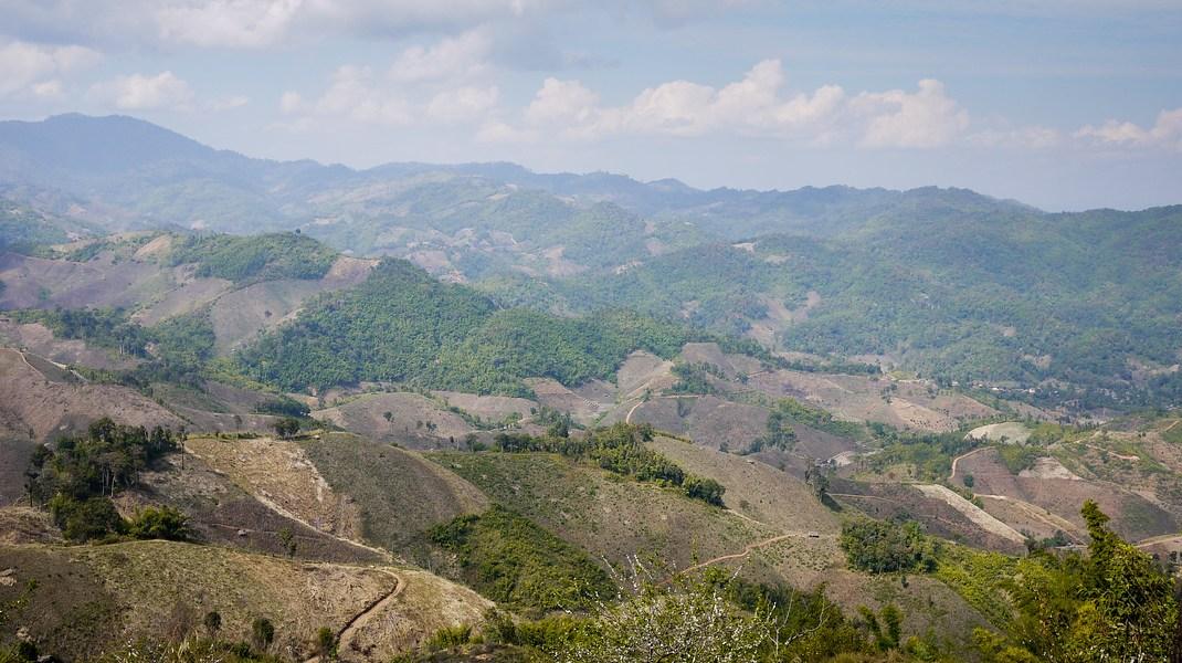 Mountains around Chiang Rai, Thailand