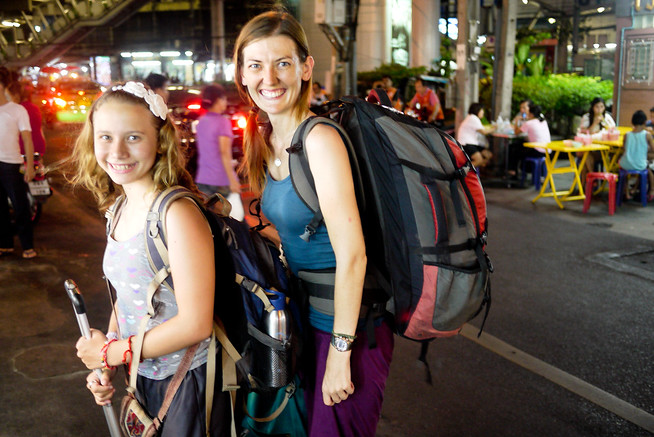 backpacking in bangkok