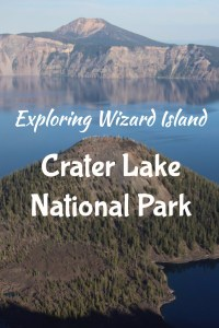 Crater Lake Oregon is such a beautiful National Park, and visiting Wizard Island Crater Lake is such a unique experience! Check out this guide for info on how to get out to the island, hiking tips, and crater lake camping information. Road Trip guide, Oregon, Hiking, Camping, Bucket List