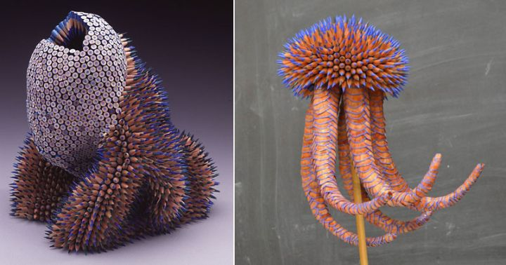 Jennifer Maestre Turns Ordinary Pencils Into Otherworldly Sculptures — TwistedSifter
