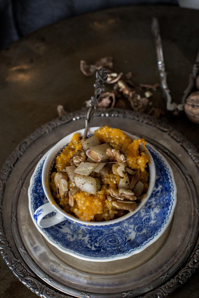 Hearty Pumpkin Quinoa porridge — xo amys