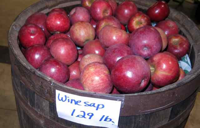 Wine Sap apples are out of this world!