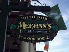 When You Are in St Augustine, Head to Meehan's Irish Pub!