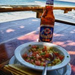 On Location: Photo of the week-conch ceviche by the sea