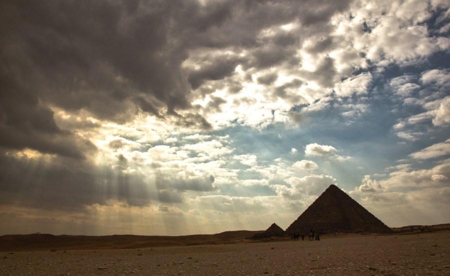 Giza Pyramids-1