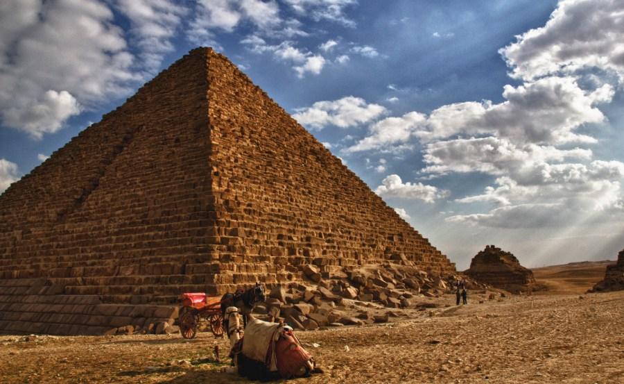 Giza Pyramids-3