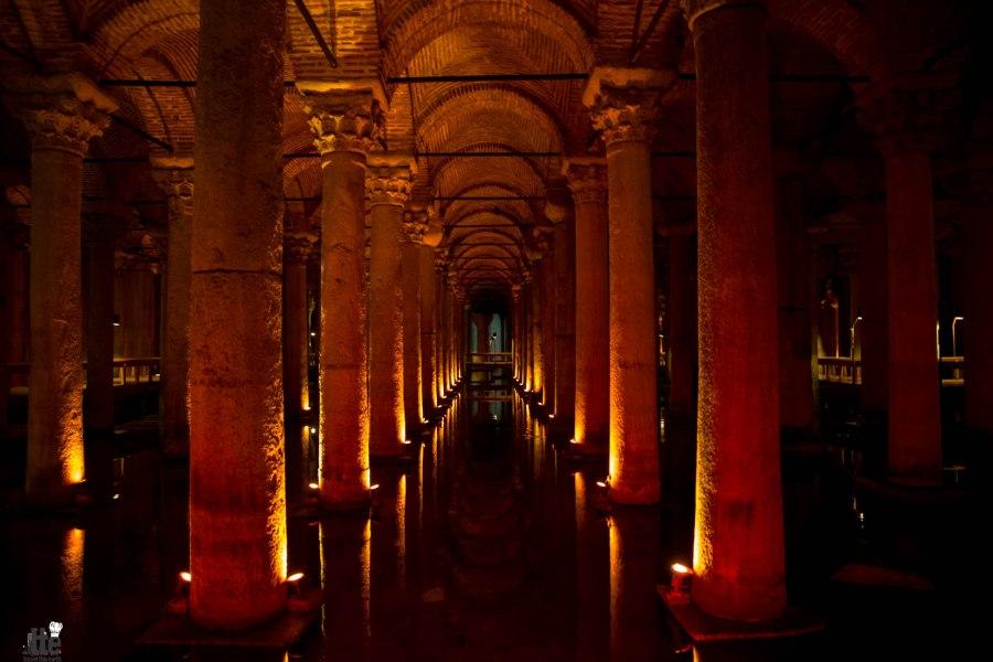 Basilica Cistern Turkey-1