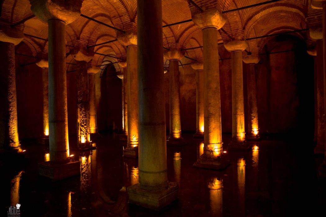 Basilica Cistern Turkey-9