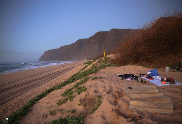 Polihale Beach Camping Kauai-3