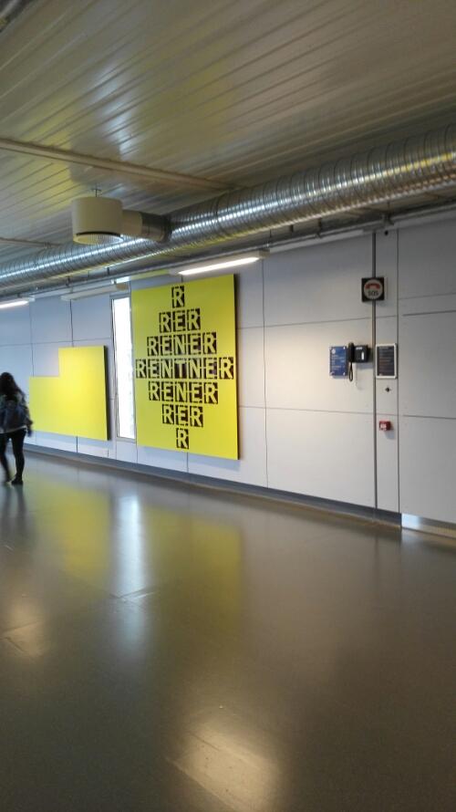 Art at Gate 19 Gardermoen Airport Oslo