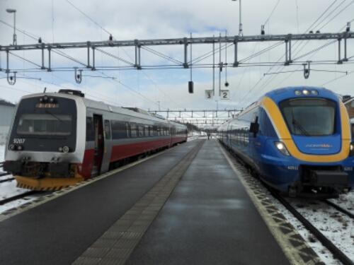 Train to Östersund