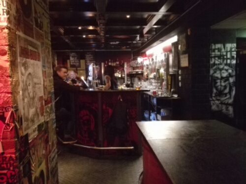 Jane Doe rock bar in Östersund