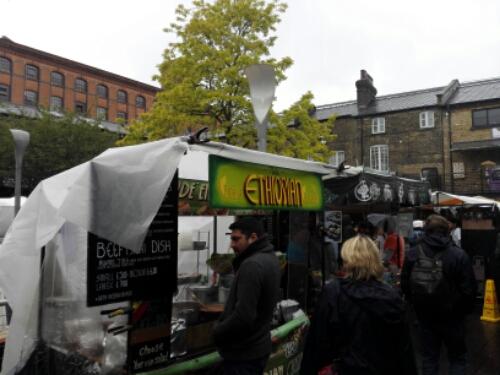 Street food in Camden Town