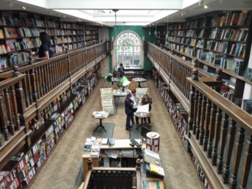 Daunt Books in Marylebone, London