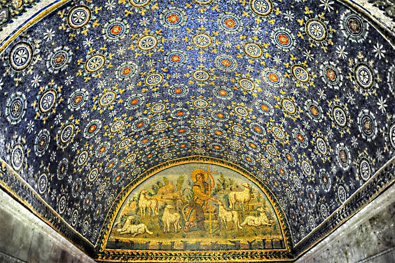 The exquisite Ravenna mosaics