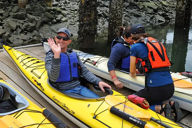 Kayaking in Vancouver with Ecomarine Paddlesport Centre