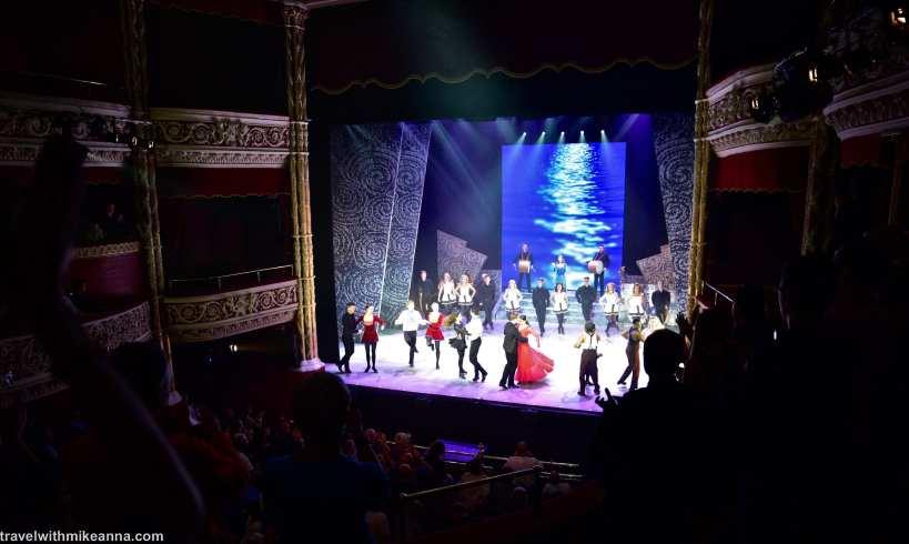 River dance in Gaiety Theatre 大河熱舞
