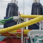 Norwegian Epic water slides on TravelXena.com
