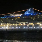 NCL Norwegian Star at night