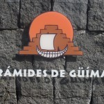 Tenerife Piramides de Guimar sign on TravelXena.com