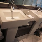 Norwegian Epic Bathroom Double Sinks TravelXena.com