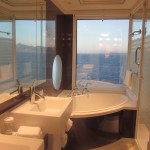 Norwegian Epic Haven Bathroom TravelXena.com