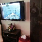 Norwegian Epic Haven Suite Flat Screen TV TravelXena.com