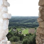 Chlemoutsi-Castle-View-through-Window TravelXena.com