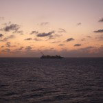 Norwegian-Jewel-Sunset-Royal-Caribbean-Ship
