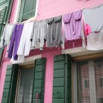 Burano-Italy-Pink House Coordinating Clothes TravelXena.com