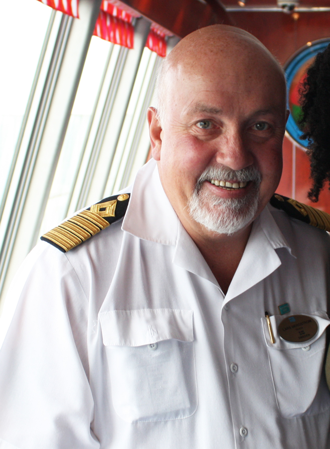 Interview with Captain Lars Bergstrom on the Norwegian Jewel