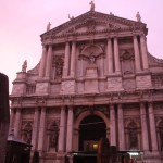 Venice-Pink-Sky-Church-TravelXena.com